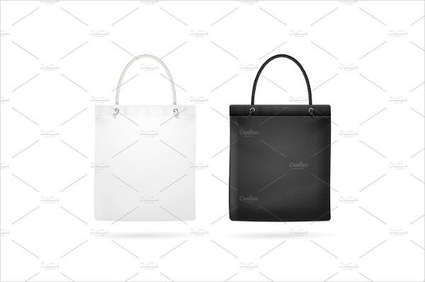 Blank Tote Bag Template