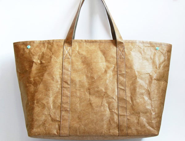 Paper Tote Bag Template