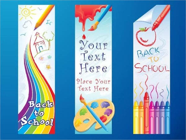 school outdoor advertising banner