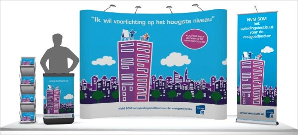 outdoor advertising display banner