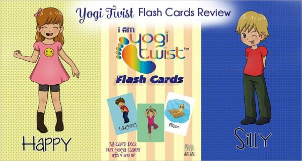 baby yoga flash card2