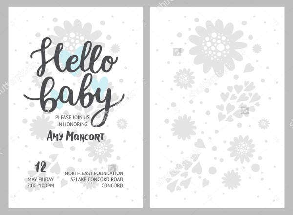 Rustic Welcome Baby Banner
