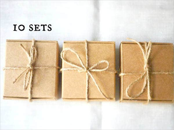 soap kraft paper box template