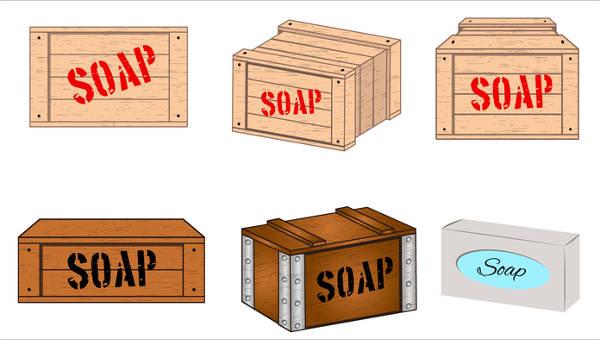 soap box templates