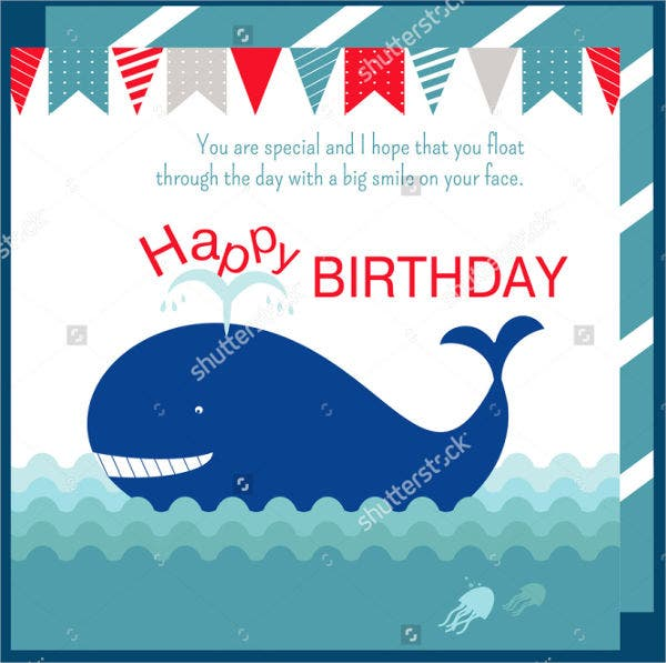 nautical birthday welcome banner