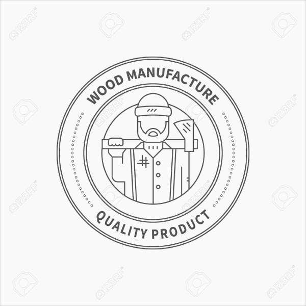 Manufacturing Company Logo Vector