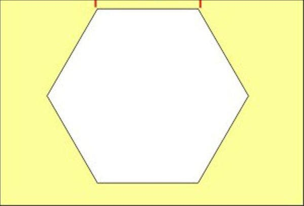 picture relating to Printable Hexagon Template titled 9+ Hexagon Box Templates - No cost Phrase, PDF, PSD, EPS Layout