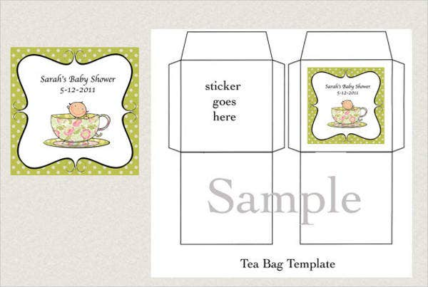 8 tea bag templates free word pdf psd eps format download free premium templates. Black Bedroom Furniture Sets. Home Design Ideas