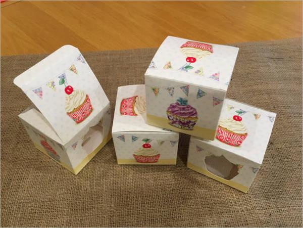 individual-cupcake-box-template