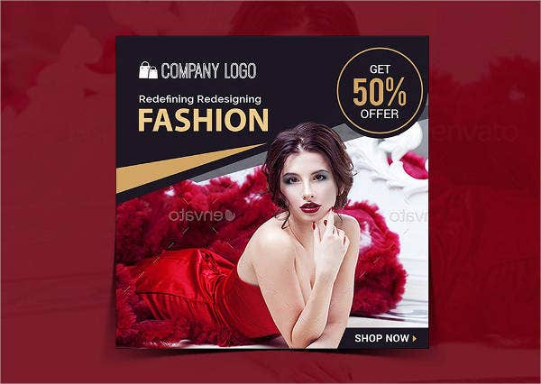creative fashion banner