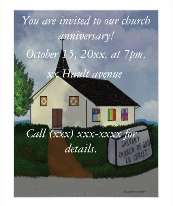 business-church-anniversary-invitation