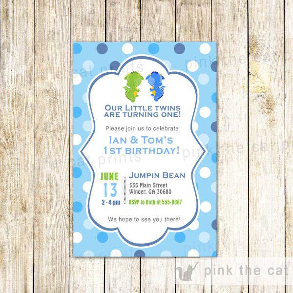 twin-baby-birthday-invitation