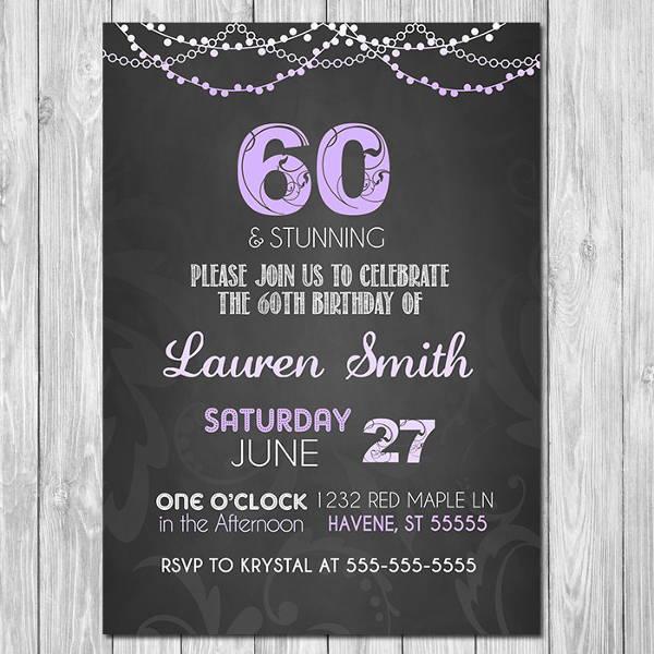chalkboard-60th-birthday-invitation