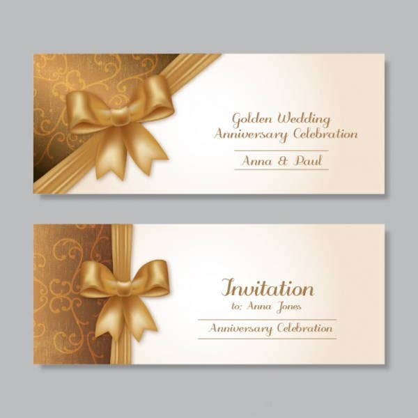 golden-wedding-anniversary-invitation