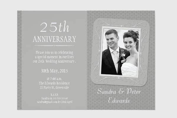 25th-wedding-anniversary-invitation