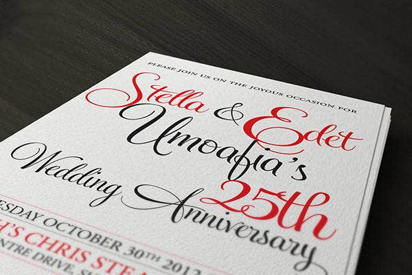 simple-wedding-anniversary-invitation