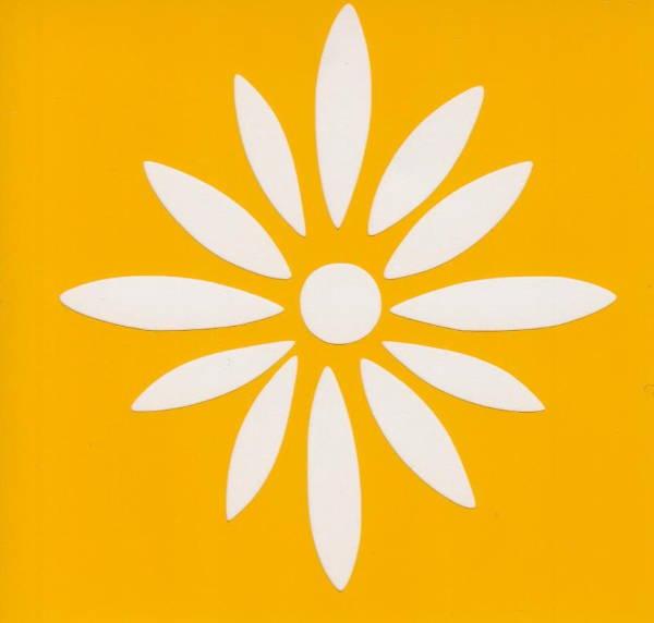 daisy flower stencil template