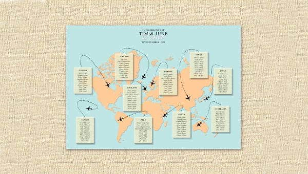 weddingmaptemplates