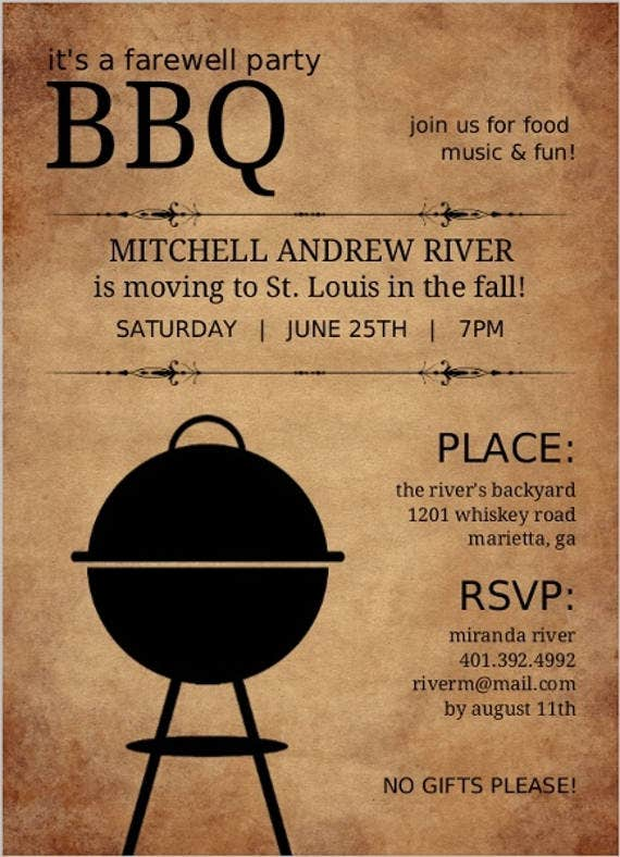 farewell-bbq-party-dinner-invitation