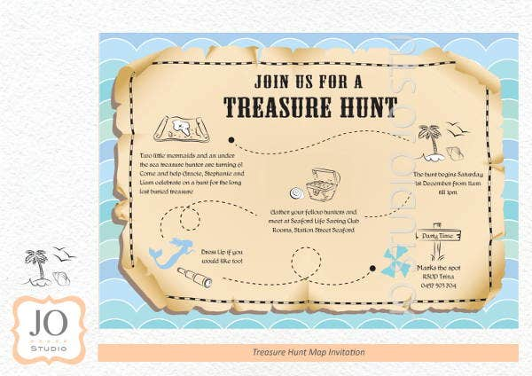 treasure-hunt-map-template