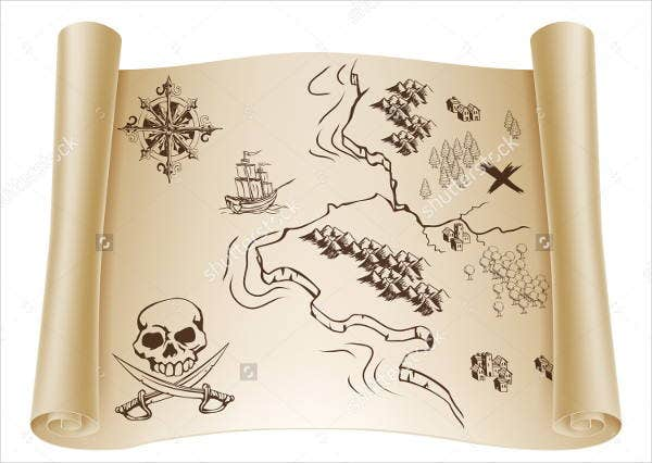 old-treasure-map-template