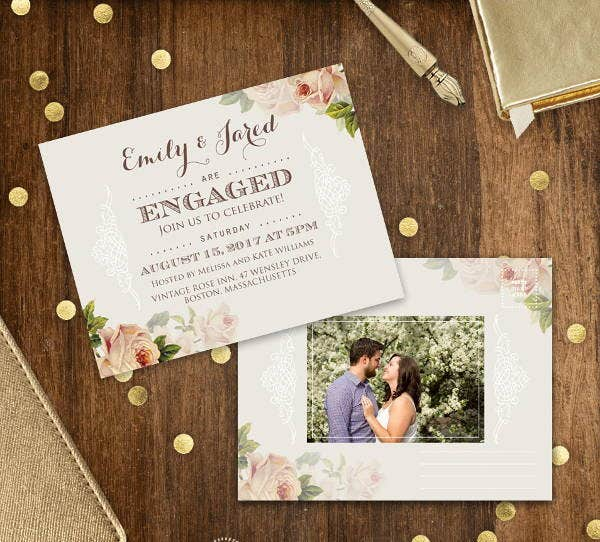 rustic-engagement-photo-invitation