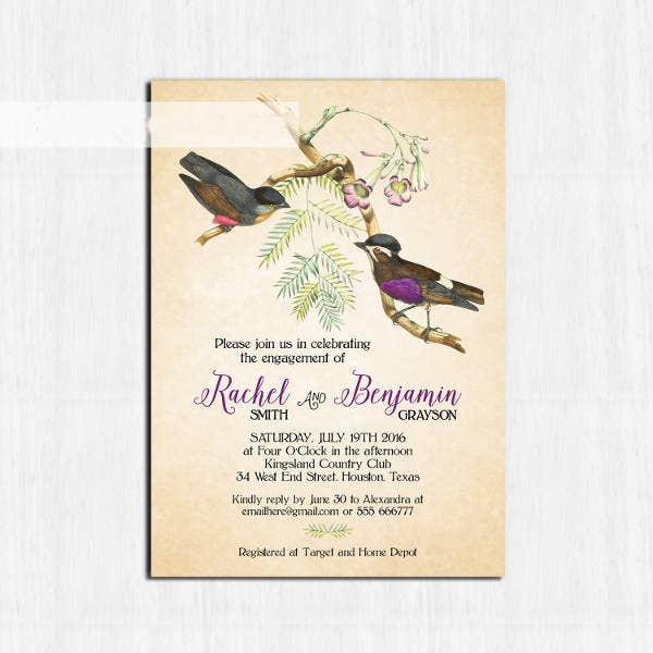 rustic-birds-engagement-party-invitation