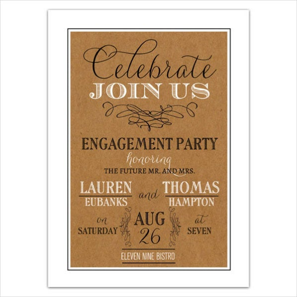 vintage-engagement-dinner-invitation