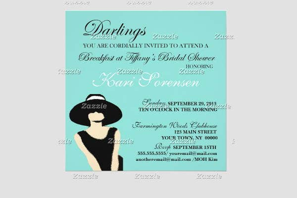10  wedding breakfast invitations