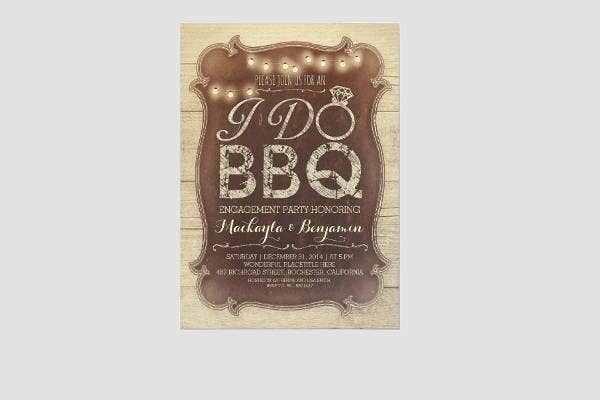 vintage-bbq-engagement-party-invitation