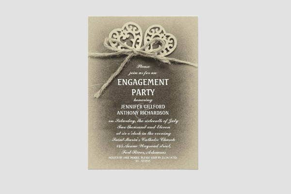 rustic-vintage-engagement-invitation