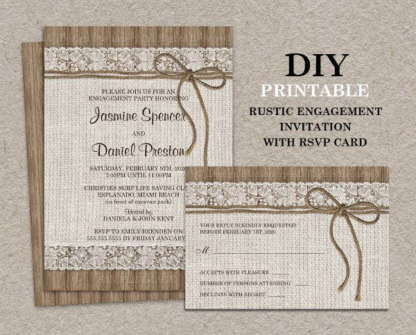diy-vintage-engagement-invitation