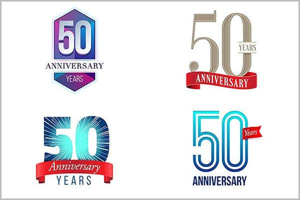 50th-wedding-anniversary-program-template