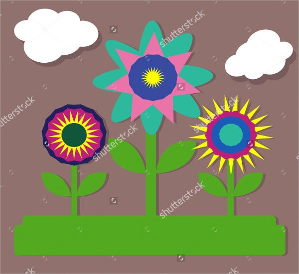 paper-flower-stem-template