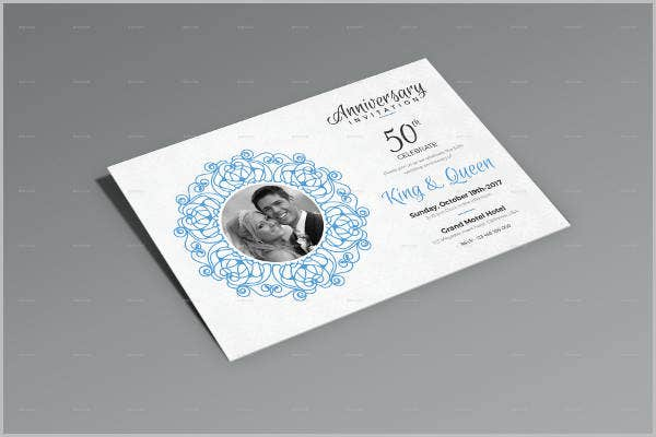 Wedding Anniversary Program Templates  Psd Vector Eps Ai