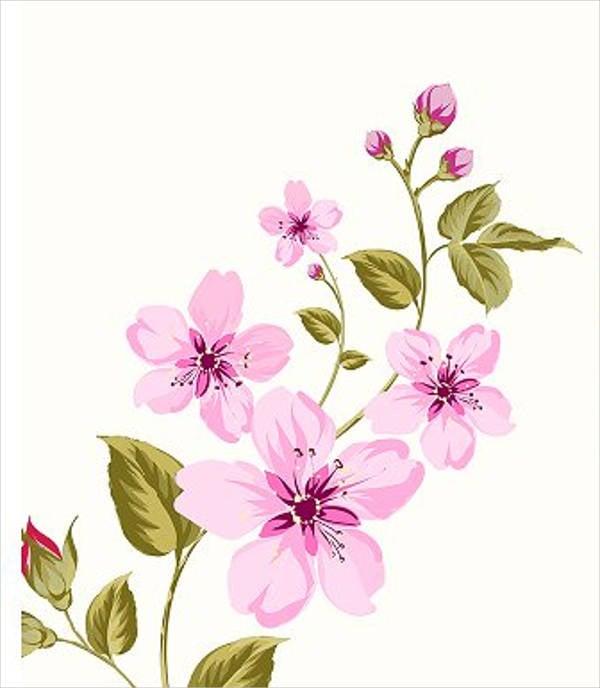 printable blank flower template
