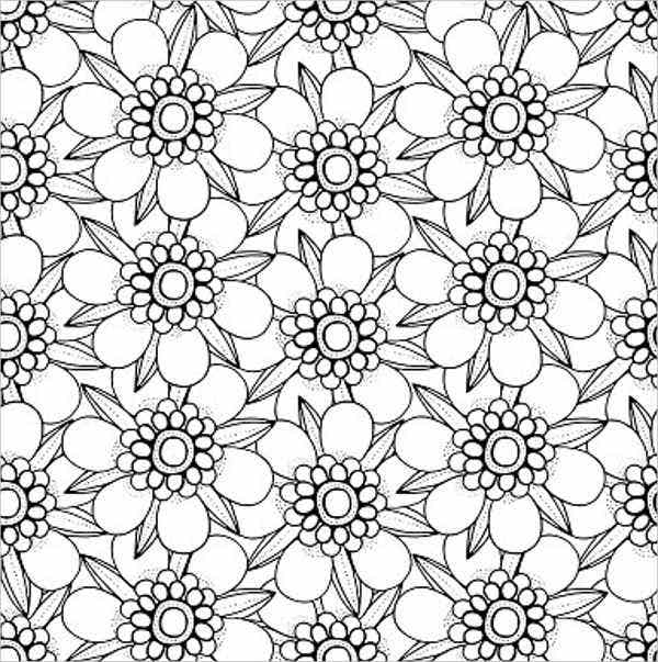 blank-flower-outline-template