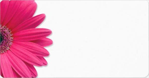 blank daisy flower template