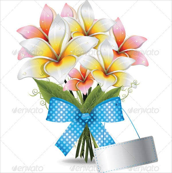 blank flower shapes template