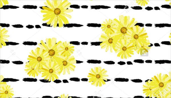 editable blank flower template