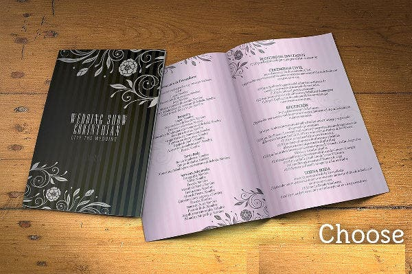 Wedding and Event Planning Program Template