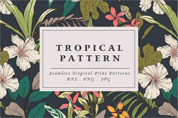 flower-leaf-pattern-template