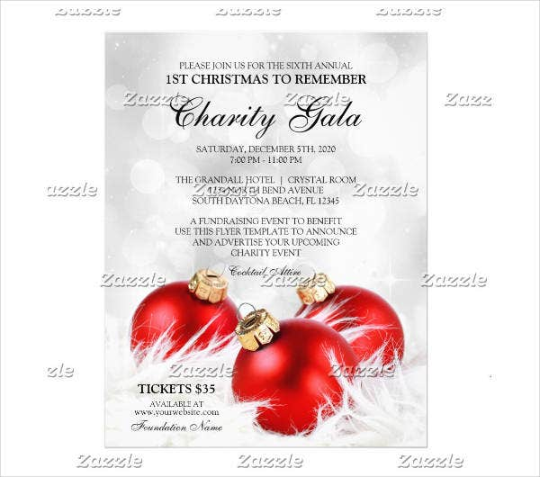 Charity Event Planning Brochure