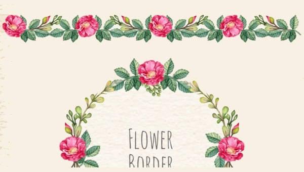 flowerbordertemplates