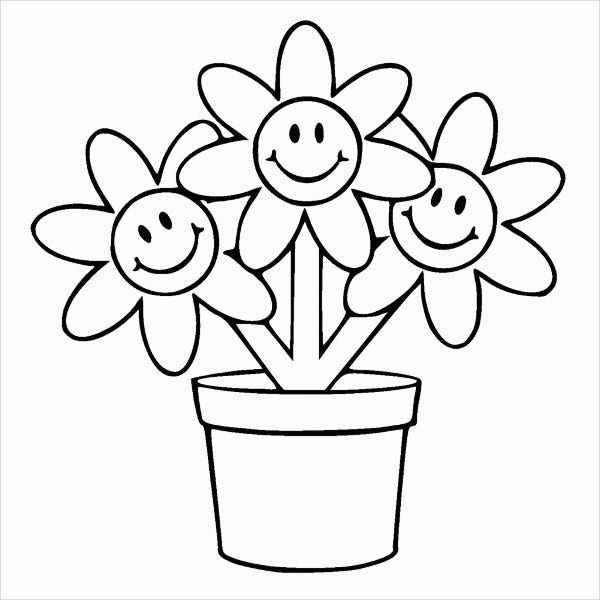 9 Flower Pot Templates