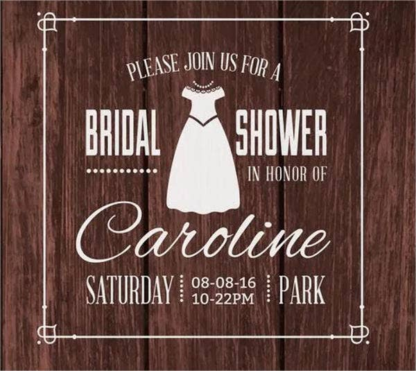 wedding program bridal party template
