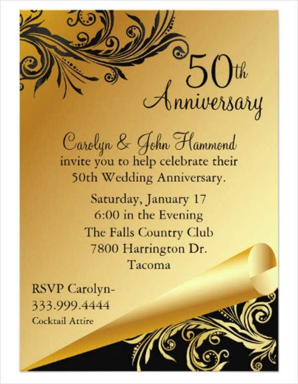 wedding-anniversary-party-program-template