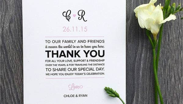 thankyouweddingprogramtemplates