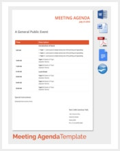 general-public-event-meeting-agenda-template