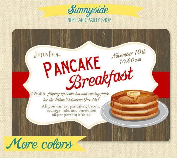 14  corporate breakfast invitations